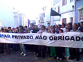 Mar privado não obrigado! _ Manifestação em Odemira, 15 de Março de 2009, foto de Alberto Matos
