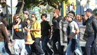 Manifestação de estudantes em Tavira - Foto de Cristina