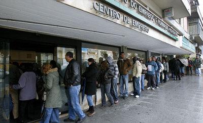 CGTP reivindica alargamento do subsídio de desemprego - Foto do Centro de Emprego de Sintra (Lusa-arquivo)