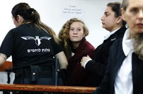 Israel quer manter Ahed Tamimi presa por tempo indeterminado