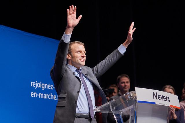 Emmanuel Macron - Foto Ville de Nevers/flickr