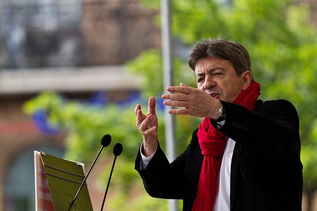 Jean-Luc Mélenchon – Foto de Pierre-Selim/flickr