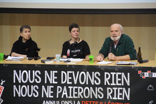 Silvia Federici, Noëmie Cravatte e Éric Toussaint
