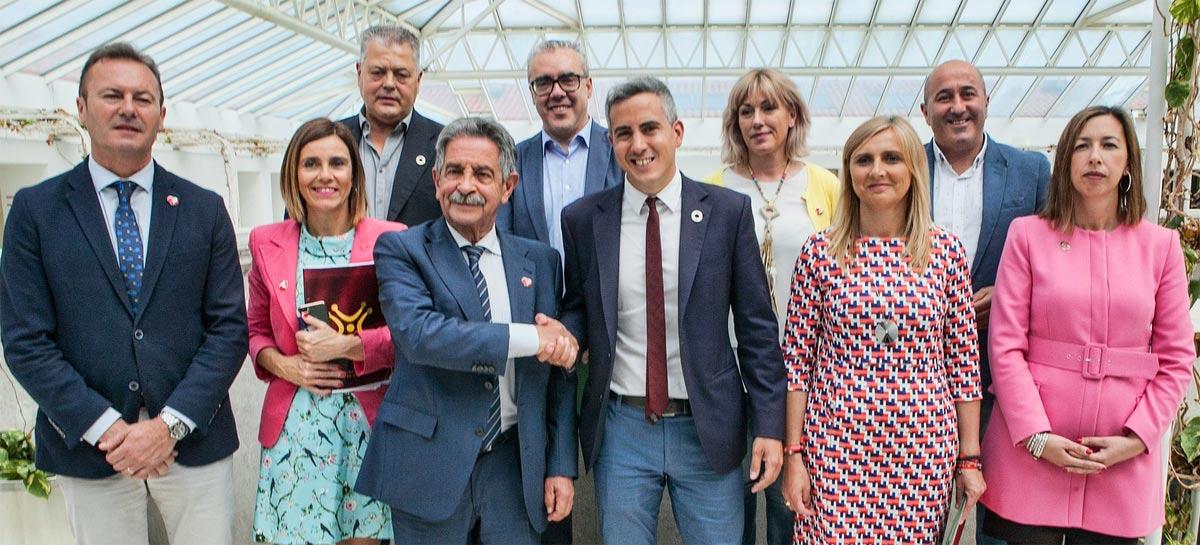 Acordo entre PRC e PSOE na Cantábria