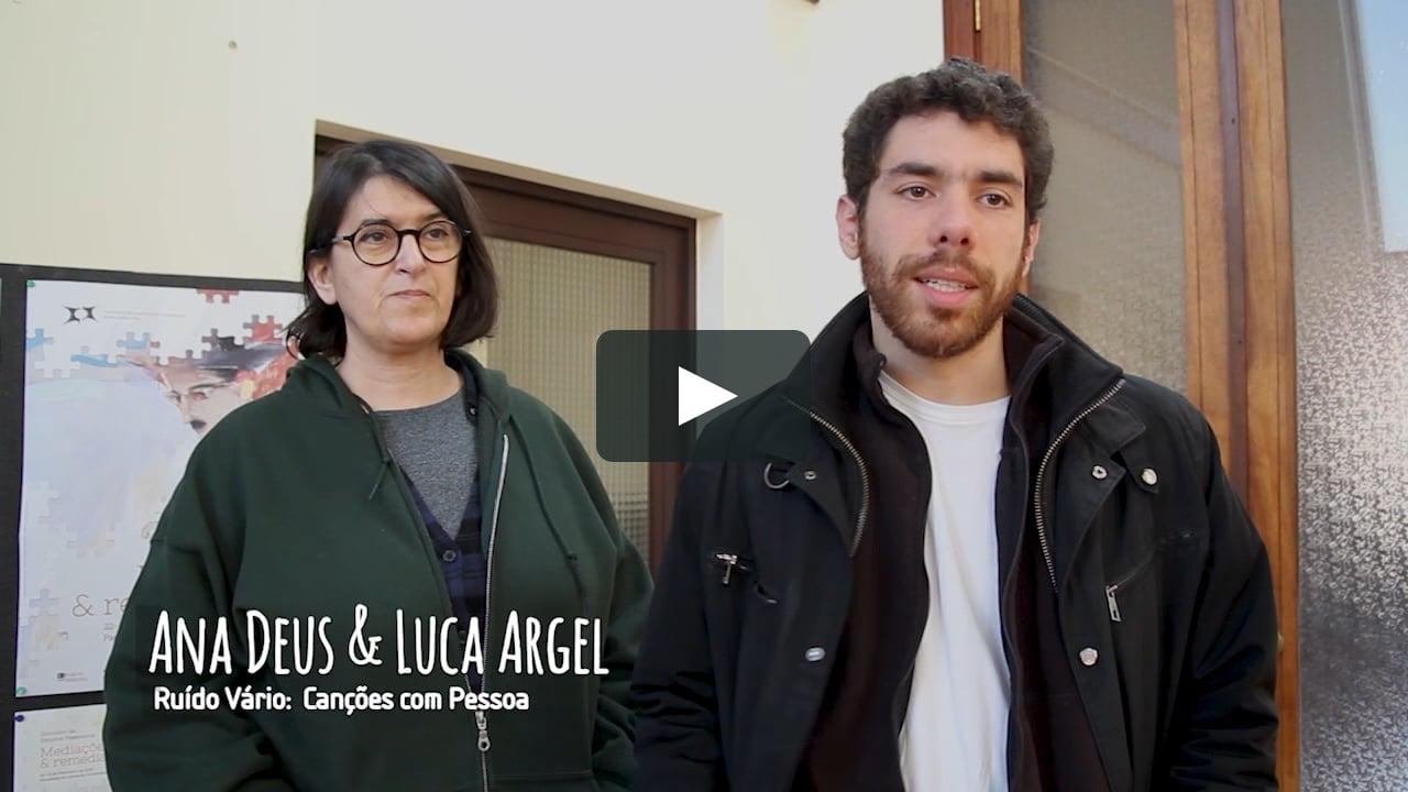 Ana Deus e Luca Argel