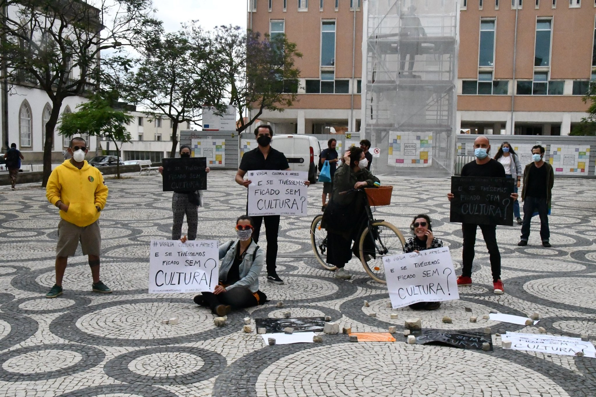Vigília em Aveiro