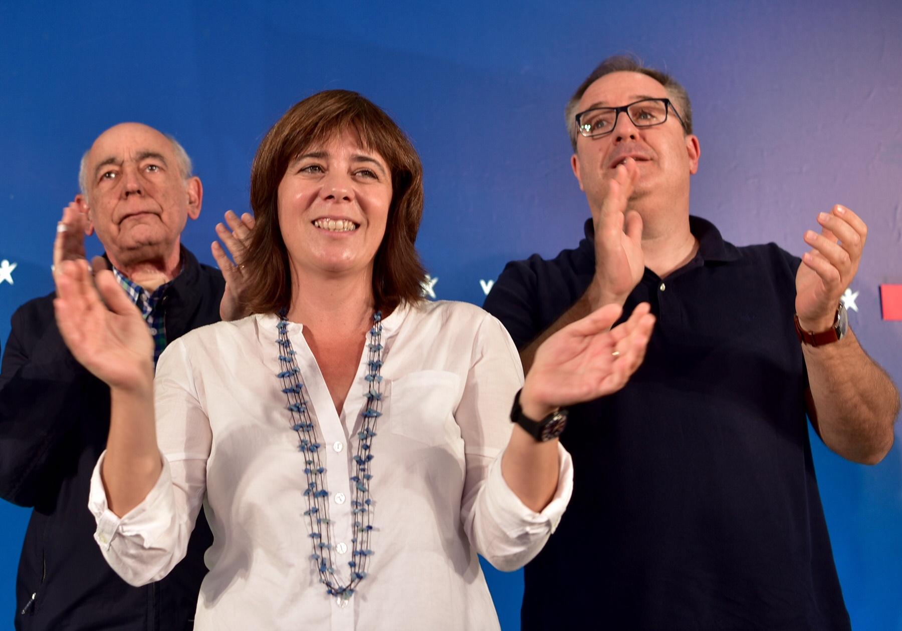 Catarina Martins apoiou a proposta de uma nova lei de bases da saúde, elaborada por João Semedo e António Arnaut - Foto esquerda.net