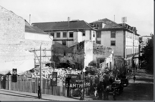 """Local onde foi construído o """"Cinema Batalha"""""""