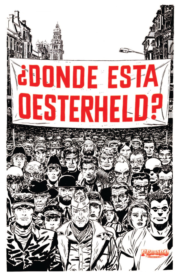 [Poster de Felix Saborido publicado no número 5 da Revista Feriado Nacional em 27 de Outubro de 1983]