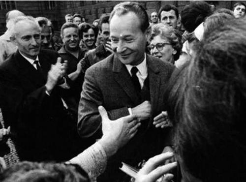Alexander Dubcek, início de 1968 - A sua direção ia mostrar-se um instrumento dócil do projeto dos soviéticos