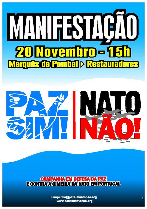 Paz SIM! NATO NÃO!!!
