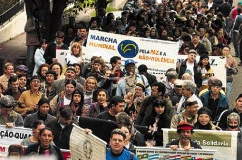 Marcha Mundial Pela Paz e a Não-Violência