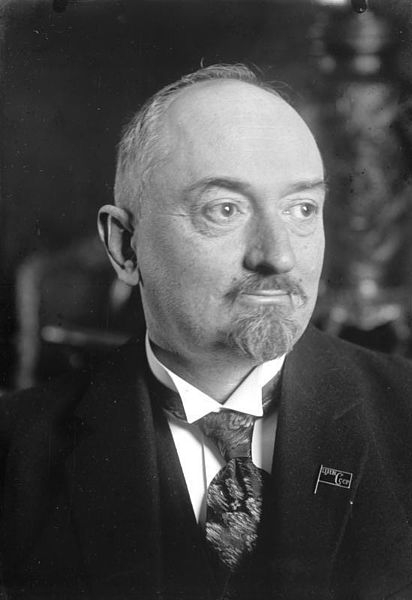 Gueorgui Vassilievitch Tchitcherine en 1925