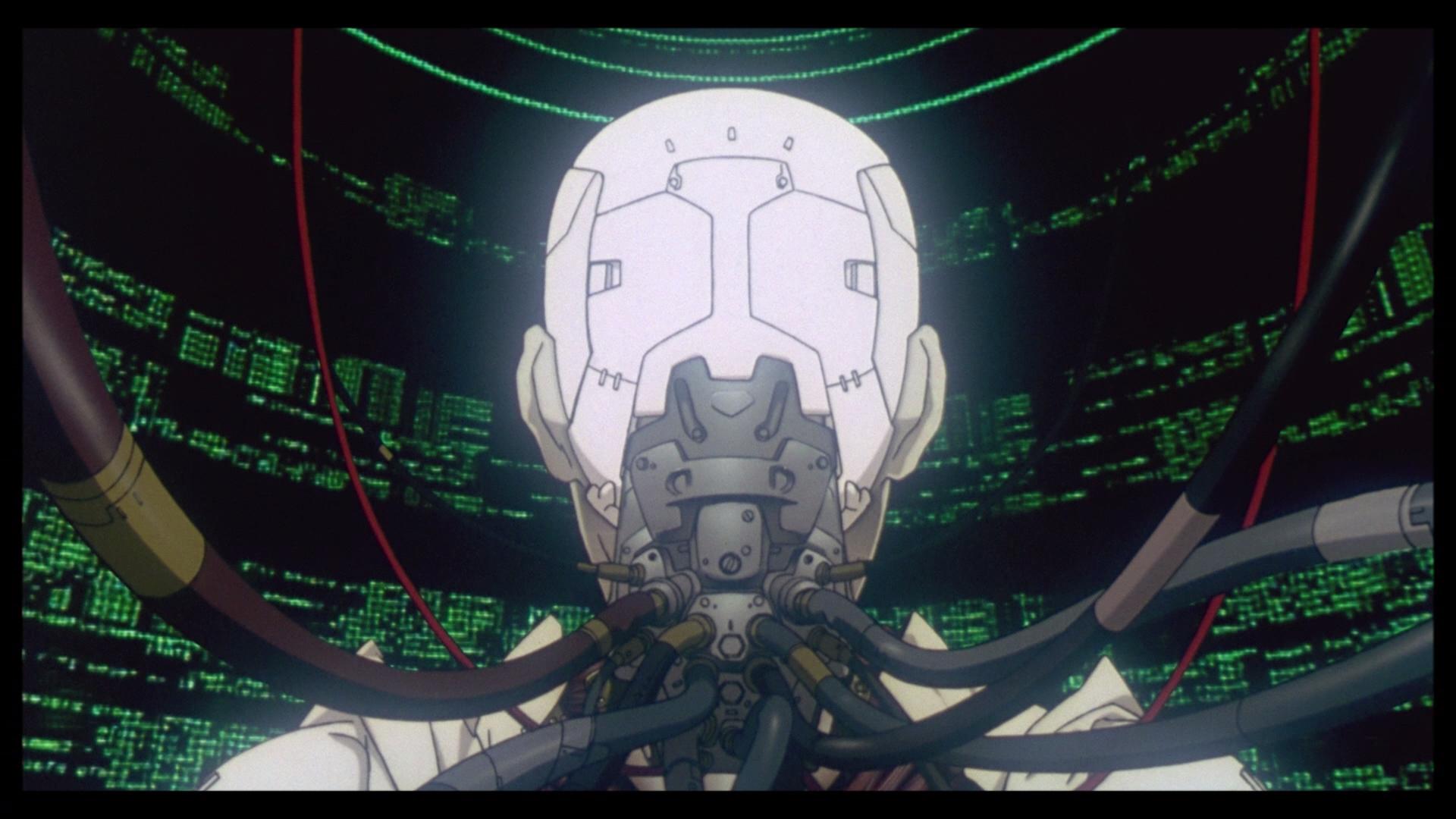 Ghost in the Shell, de Mamoru Oshii.
