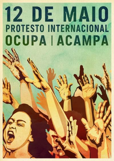 A organização portuguesa anunciou que dia 12 de Maio - 12M - sairá às ruas para participar no dia de protesto global.