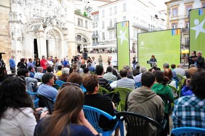 Bloco comemora os seus 13 anos com jornada de debate e um jantar em Coimbra