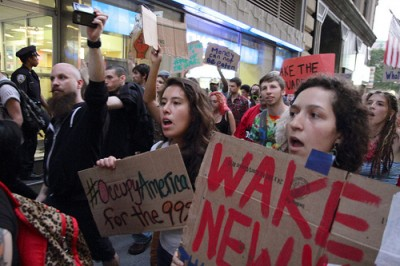 Occupy Wall Street, 26 de Setembro de 2011, Foto de PaulS/Flickr