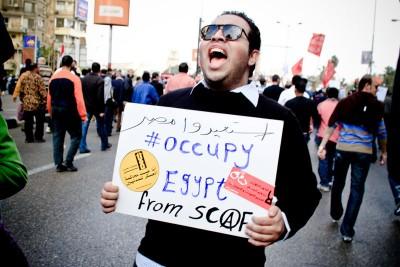 Centenas de feridos em protestos no Egito