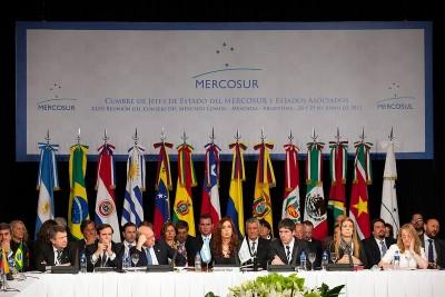 Abertura da Cimeira do Mercosul na Argentina a 28 e 29 de junho.