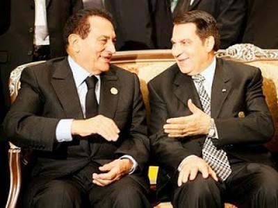 Ben Ali e Hosni Mubarak eram membros da Internacional Socialista.