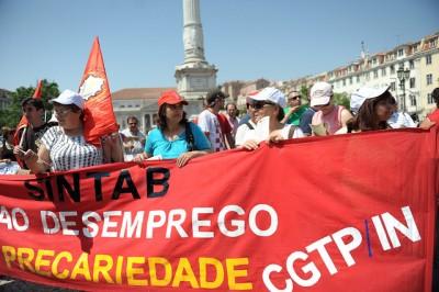 CGTP propõe, entre outras medidas, que o Governo antecipe o pagamento dos créditos aos trabalhadores caso, decorrido o prazo de um ano, as dívidas por parte dos empregadores não sejam liquidados. Foto de Paulete Matos.