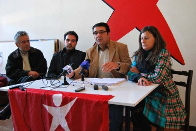Conferência de imprensa do Bloco/Barcelos