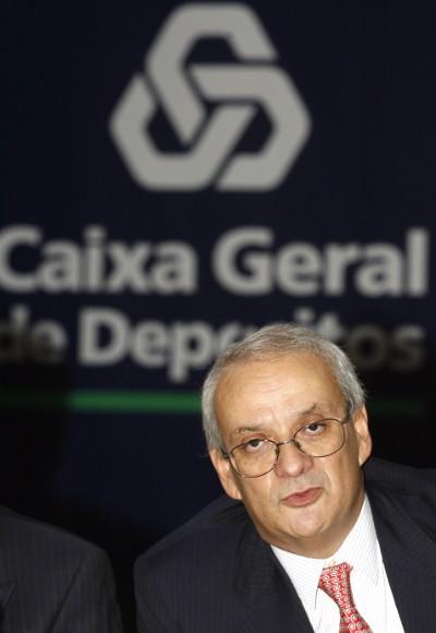 Carlos Santos Ferreira, presidente da CGD em 2007 – Foto de Inácio Rosa/Lusa (arquivo)
