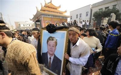 Funeral de Xue Jimbo em Wukan