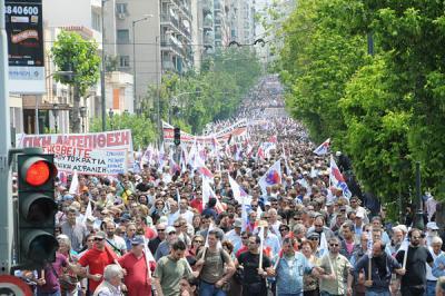 Em dia de greve geral, milhares de pessoas são esperadas esta  terça-feira nas manifestações em Atenas e no resto da Grécia.
