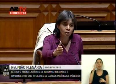 Catarina Martins apresentou o projeto de lei do Bloco