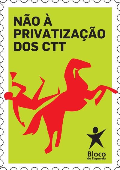 Serviço postal dos CTT é para privatizar, reafirma Governo