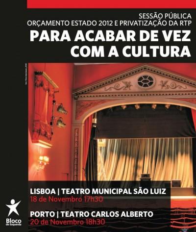 O debate prossegue este domingo às 18h30 no Teatro Carlos Alberto, no Porto