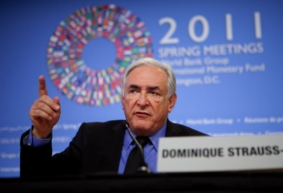 Director do FMI, Dominique Strauss-Kahn. Foto de International Monetary Fund, Flickr.
