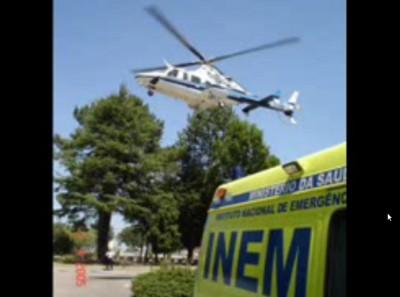 Falta de médicos e enfermeiros pode parar helicóptero do INEM