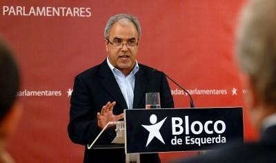 José Manuel Pureza - Foto das jornadas parlamentares do Bloco