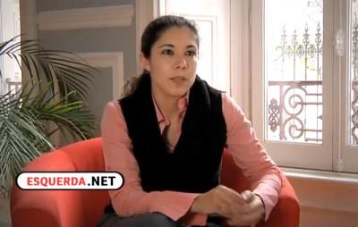 Joana Mortágua explica as linhas gerais das Jornadas contra o Governo da Troika.