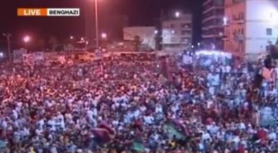 Líbia: rebeldes tomaram a Praça Verde em Trípoli