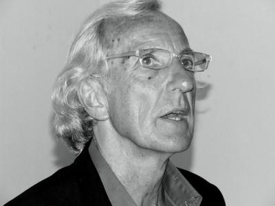 John Pilger. Foto de Maggie Hannan