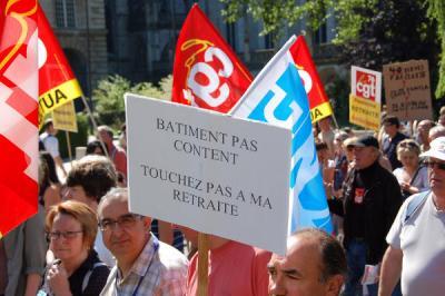 Manifestação em Rouen. Foto de  clauderouen, da Phototèque du  Mouvement Social