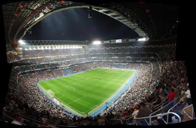 Estádio Santiago Bernabeu. Foto de ArchIM, FlickR
