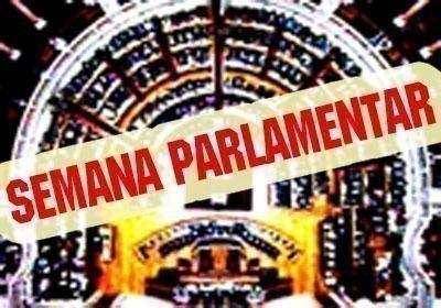 Semana parlamentar por Cecília Honório