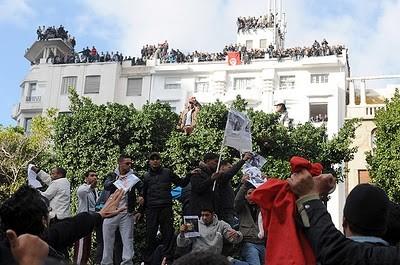 Tunísia: Palácio presidencial