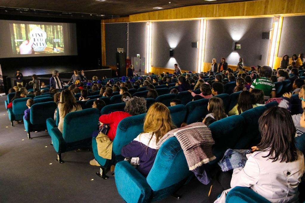 Sala de sessão no CineEco