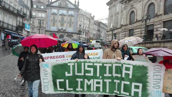 Manifestação no Porto
