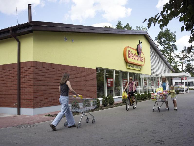 Loja do grupo Jerónimo Martins na Polónia.