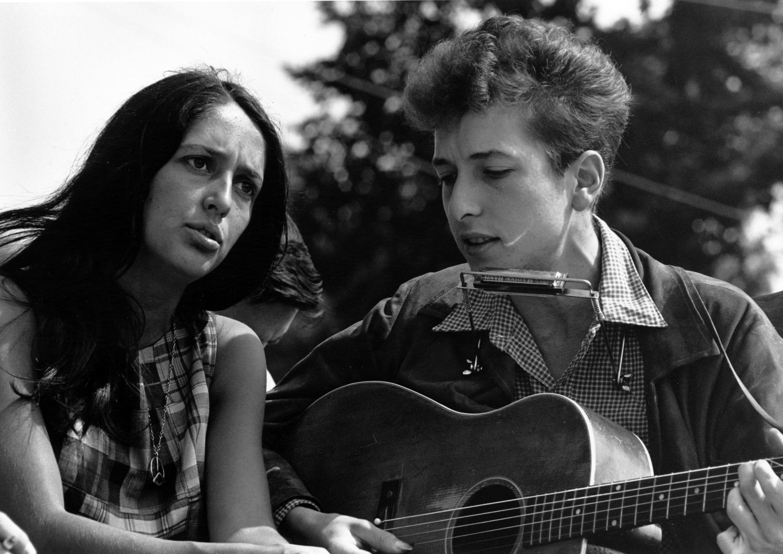 A transformação de Bob Dylan   Esquerda