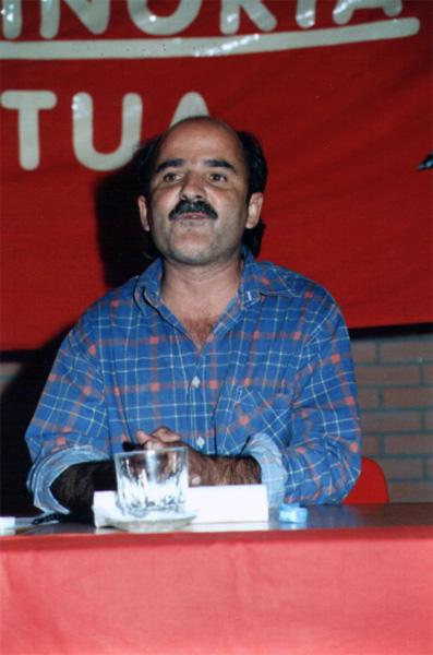 Manuel Graça em 1995. Foto de João Louçã.