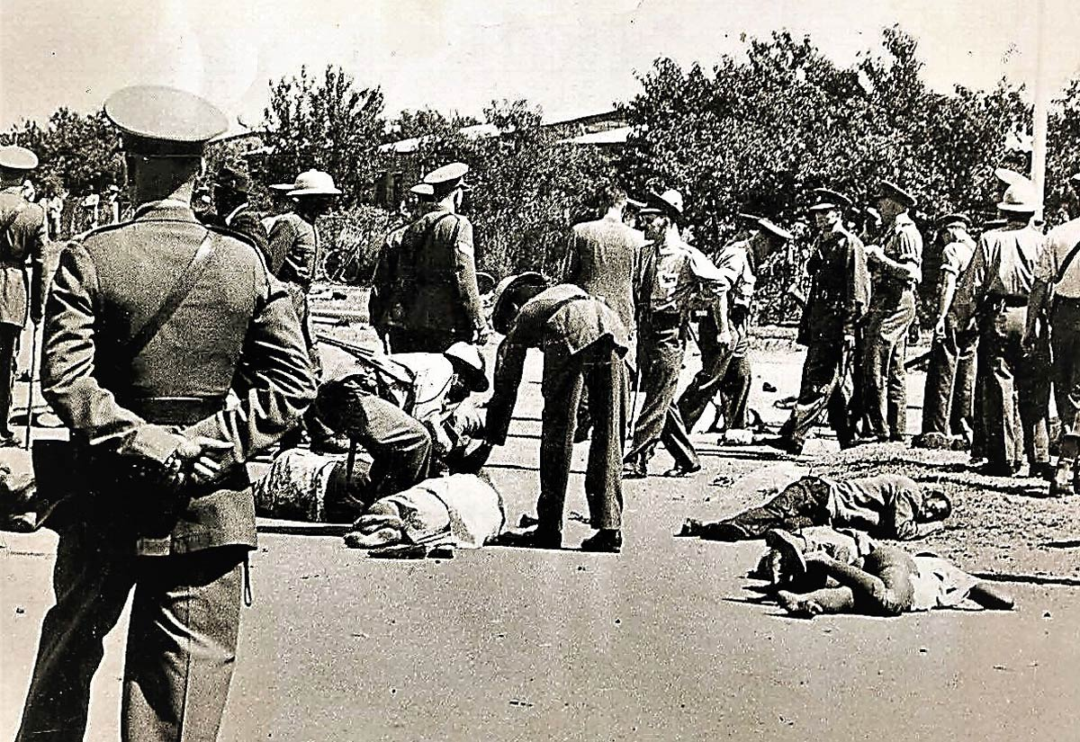Massacre de Pindjiguiti, Bissau - Reprodução
