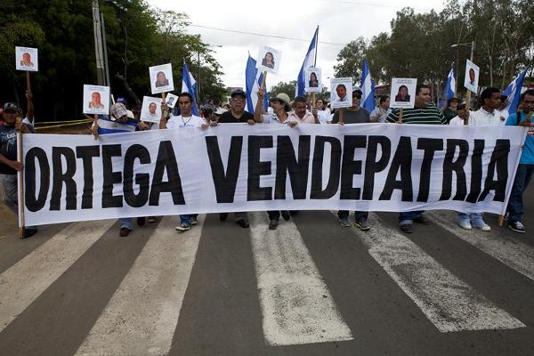 Daniel Ortega tem de maneira quase exclusiva o monopólio da força, o monopólio das armas e da repressão