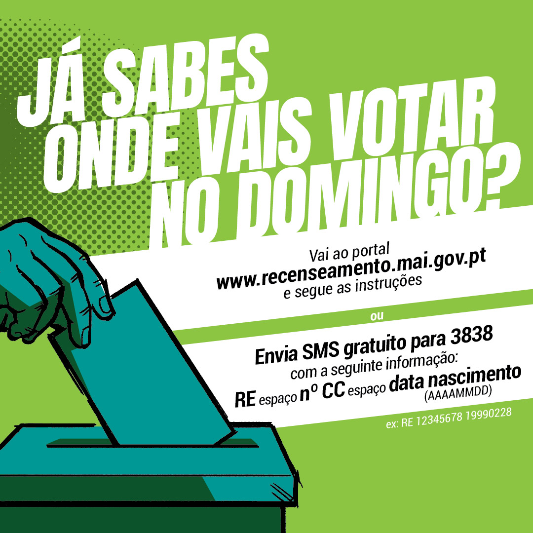 Onde votar europeias 2019